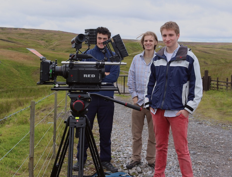 Filming at Grove Rake